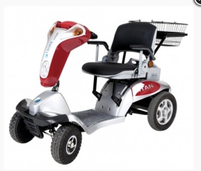 sammenklappelig el scooter